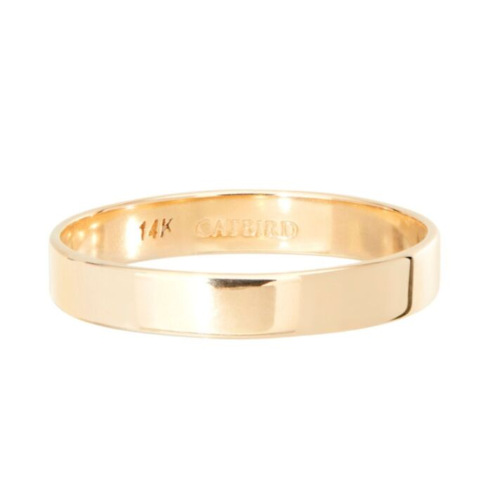 Tomboy Ring, Yellow Gold