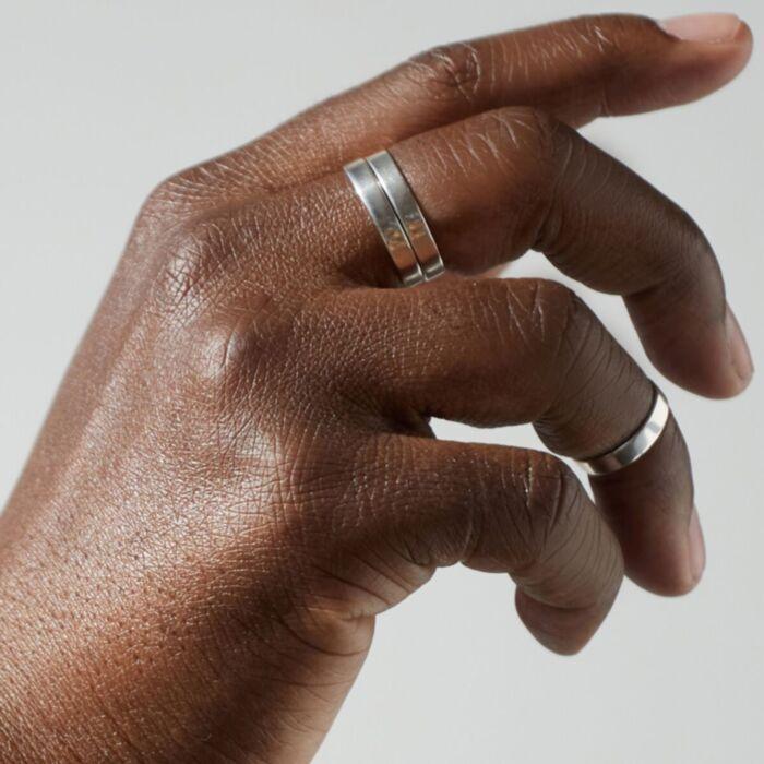 Tomboy Ring, Silver