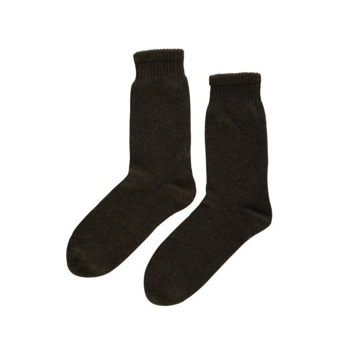 Cozy Cashmere Socks, Black