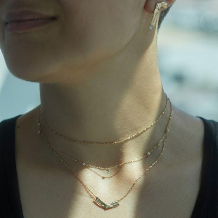 Ribbon Necklace image