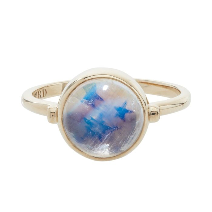 Secret Star Moonstone Ring