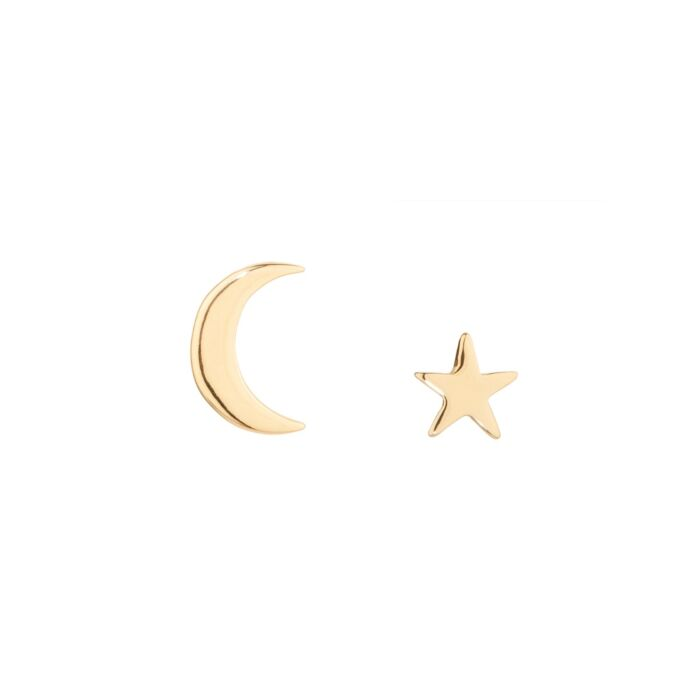 Tiny Dancer Stud, yellow gold (single)