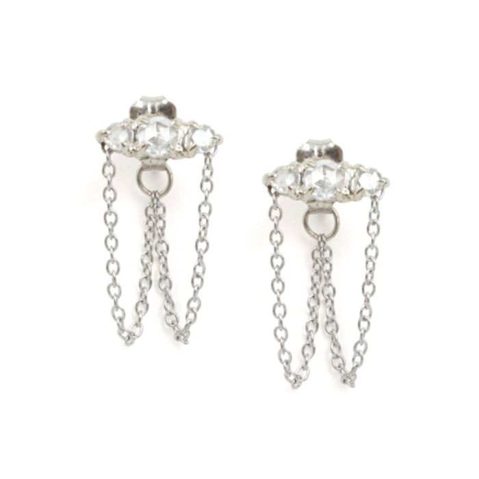 Sleeping Beauty Chandelier Earring (single)