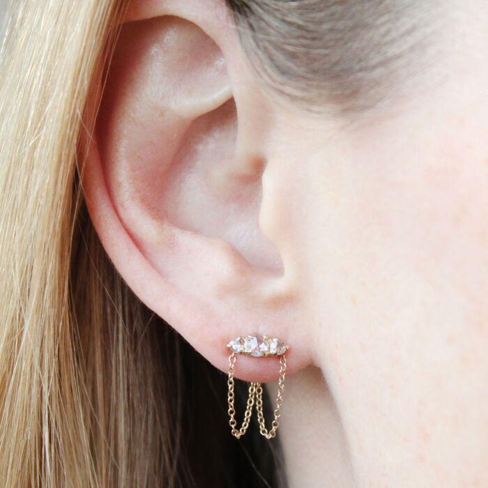 Sleeping Beauty Chandelier Earring (single) image