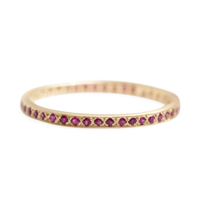 Classic Eternity Band, Rubies
