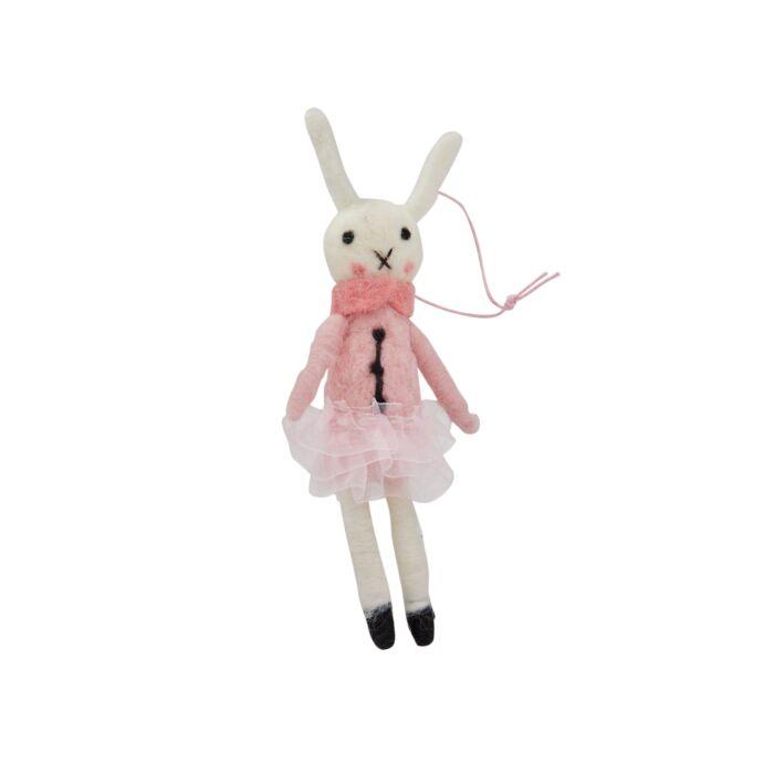 Ballerina Bunny Ornament