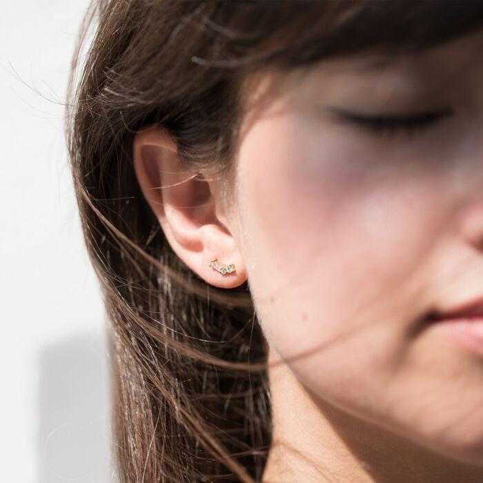 Diamond Constellation Earrings image