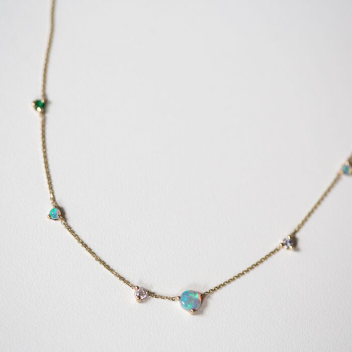 Opal Counting Necklace image
