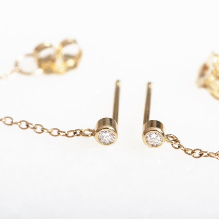 Chained to My Heart Earring, Petite (single) image