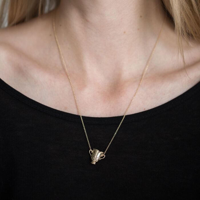 Her Cup of Stars Necklace image