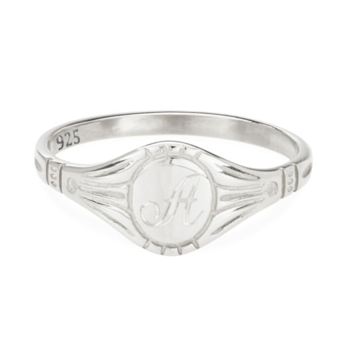 Grand Cygnet Ring, Silver