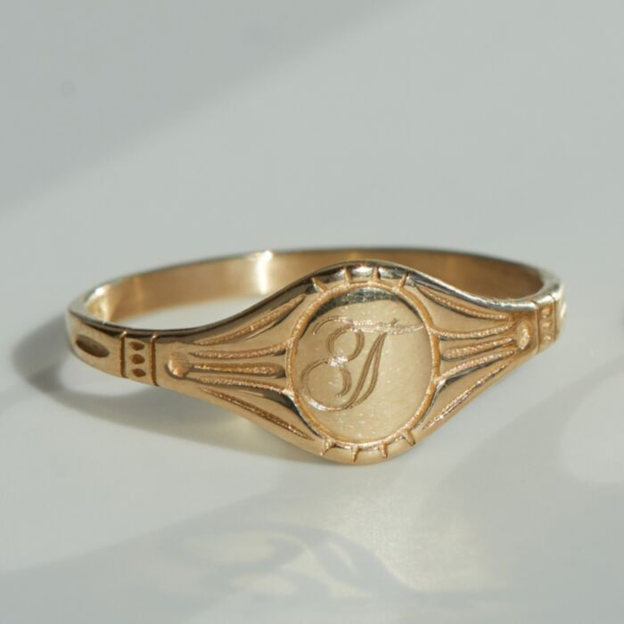 Grand Cygnet Ring, Yellow Gold image