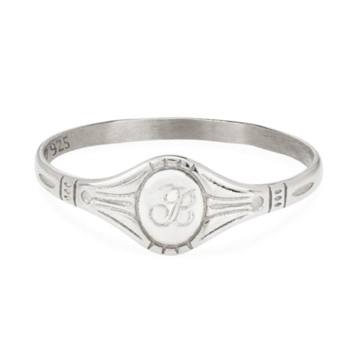 Baby Cygnet Ring, Silver
