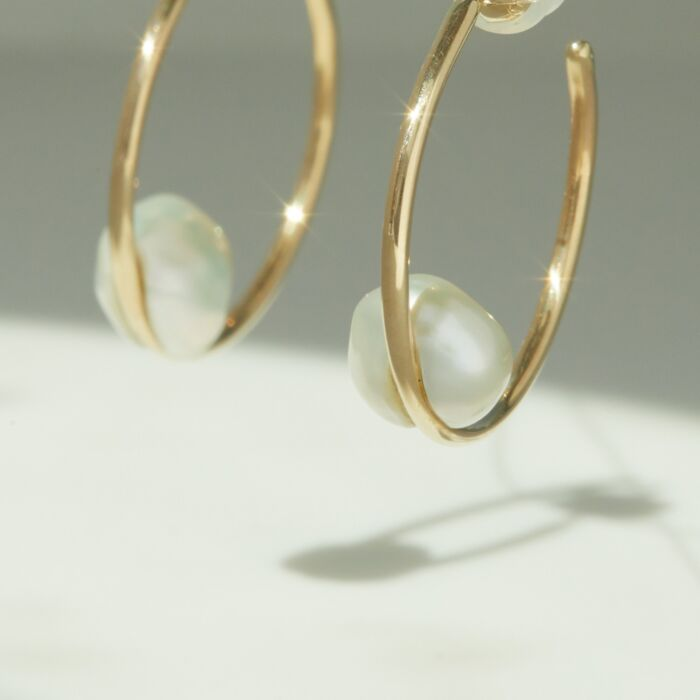 Cloud Hoops (Pair) image