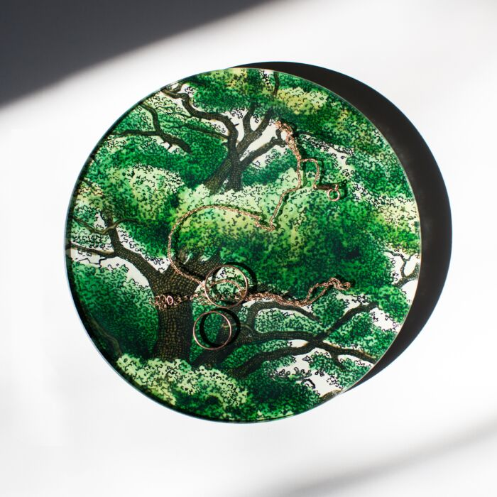 Branches Round Plate image