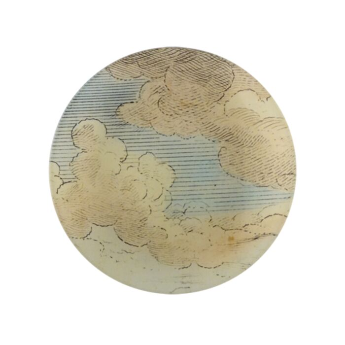 Clouds Round Plate