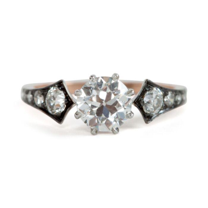 Diamond Wings Ring