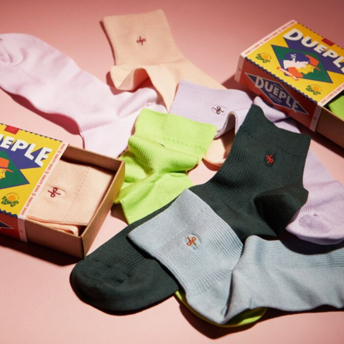 Slip on Socks, Neon Pie image