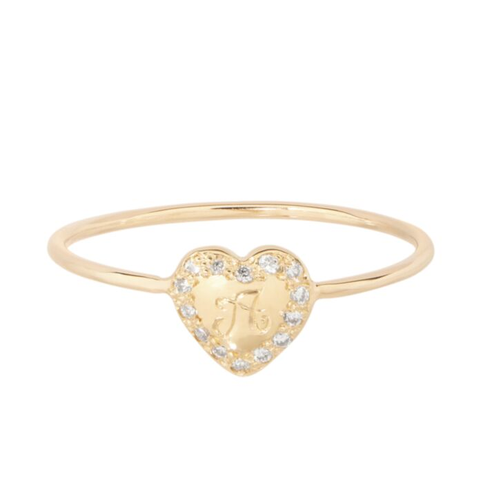 Puffy Heart Ring