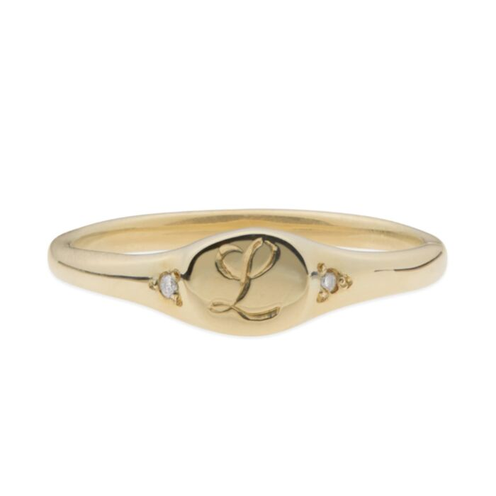 Henrietta's Treasure Mini Signet Ring