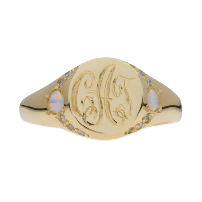 Isabel's Treasure Signet Ring