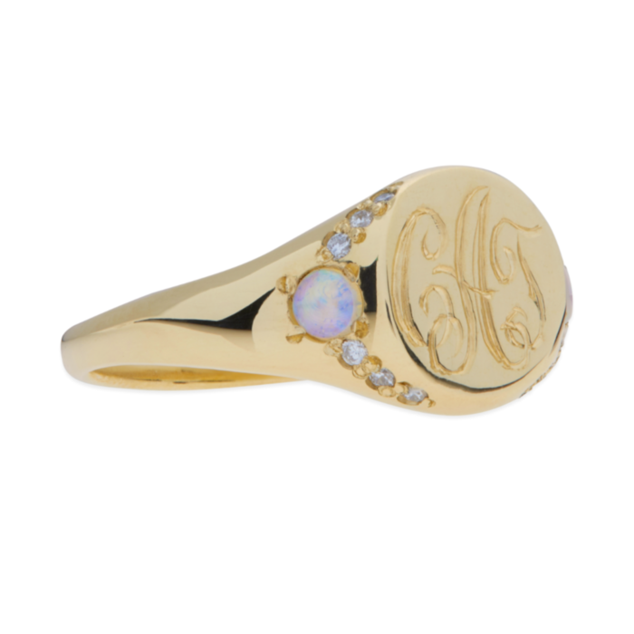 Isabel's Treasure Signet Ring image