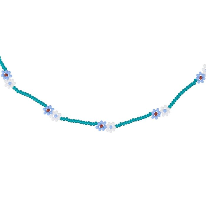 Double Daisy Chain Necklace image