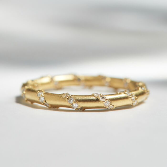 Golden Twisted Band image