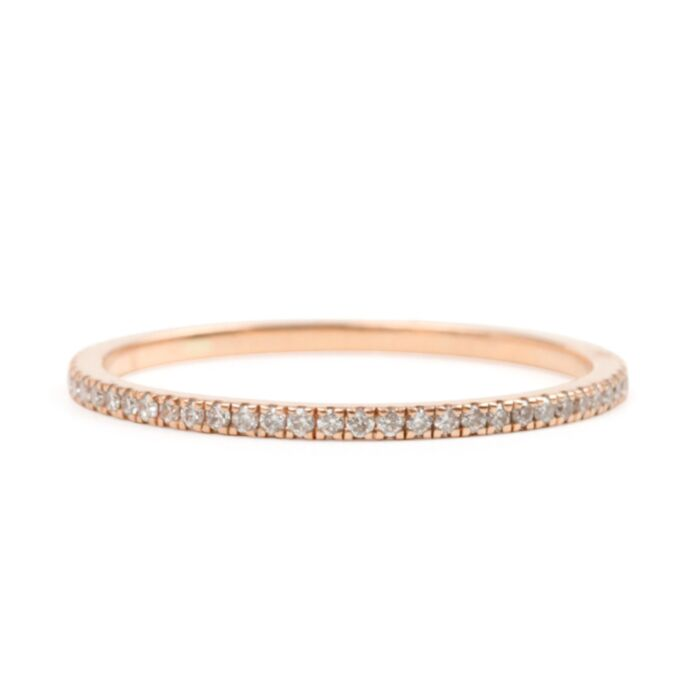Fairy Light Eternity Band, White Diamonds image