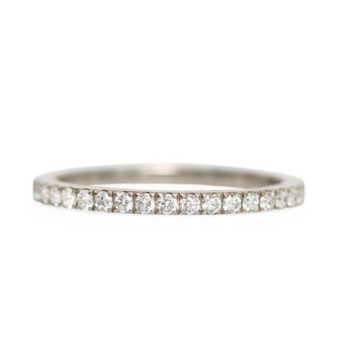 Fairy Light Supreme Eternity Band, White Diamonds
