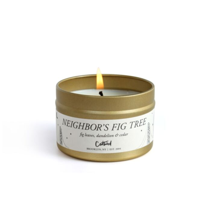 Neighbor's Fig Tree Travel Candle
