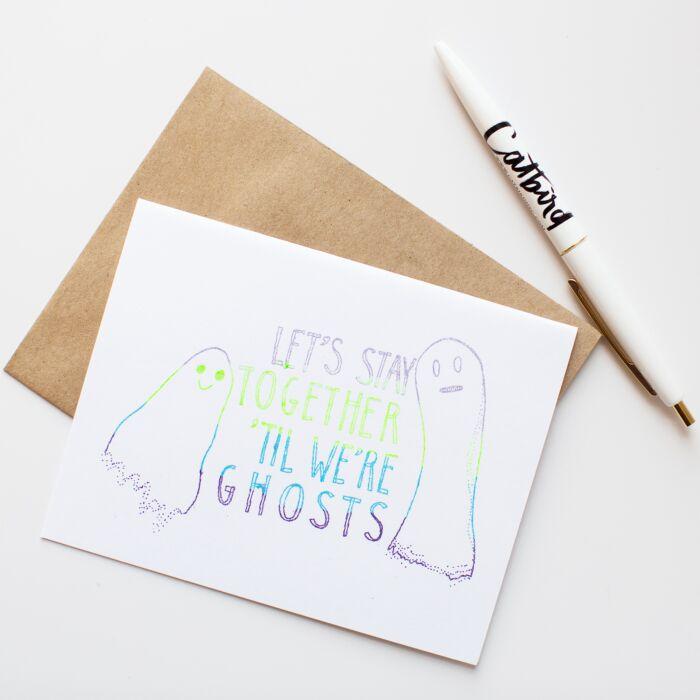 Til We're Ghosts Card image