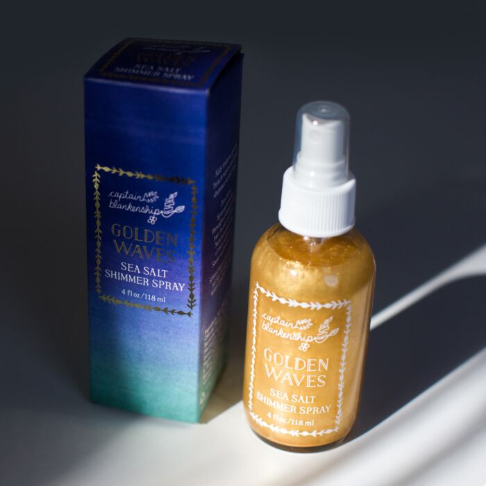 Golden Waves Shimmer Spray