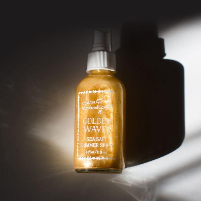 Golden Waves Shimmer Spray image