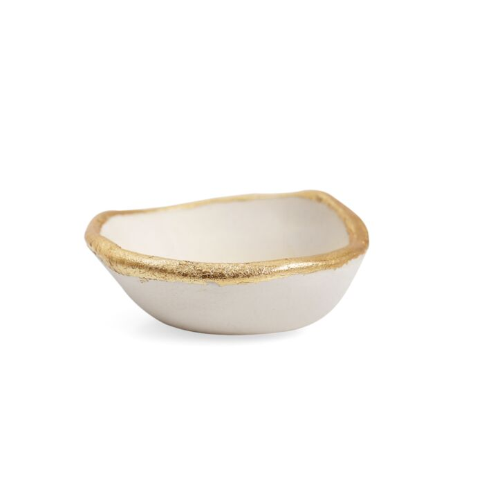 Extra Tiny Gold Lip Dish image