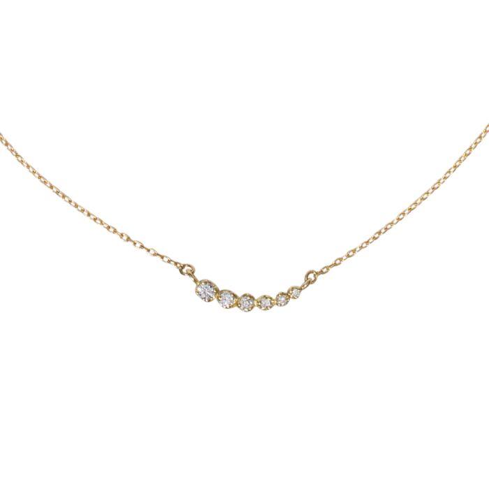 Diamond Shooting Star Necklace