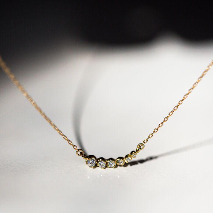 Diamond Shooting Star Necklace image