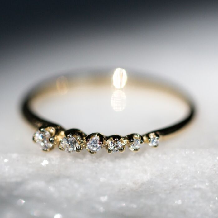 Shooting Star Ring, Diamond image