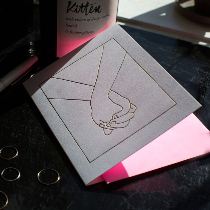 Holding Hands Card image