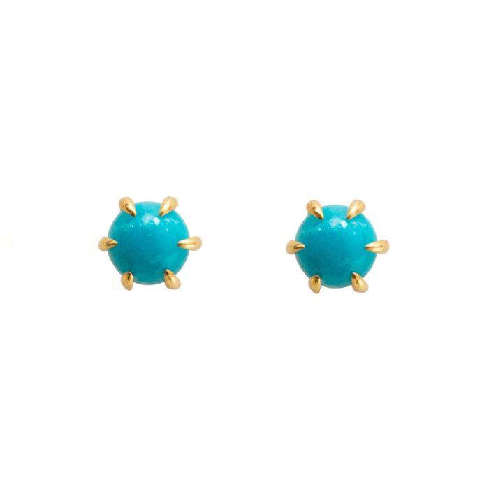 Kyndall Turquoise Studs image