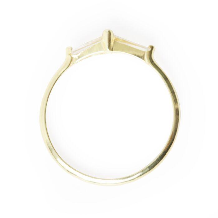 Perryn Diamond Baguette Ring image