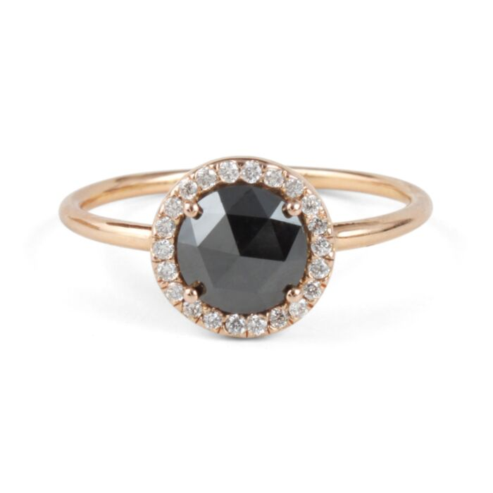 Black Diamond Aura Ring