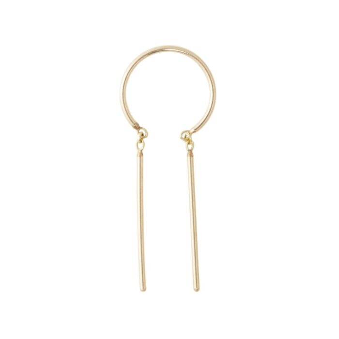 Chime Earring, Yellow Gold (SINGLE)