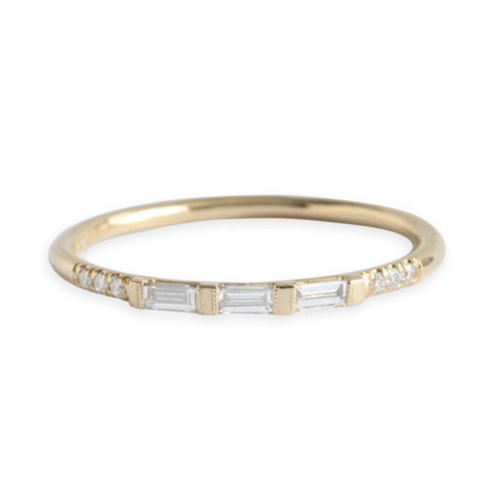 Baguette Equilibrium Ring