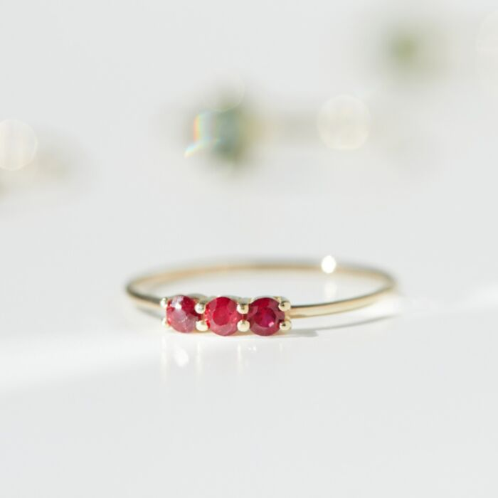 Still Life Ring, Ruby image