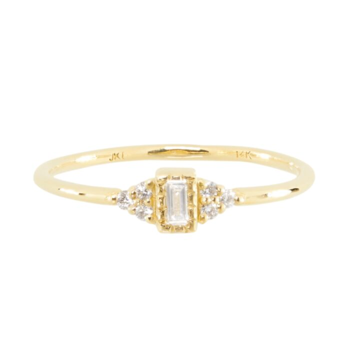 Baguette Whisper Ring