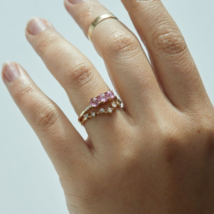 La Vie en Rose Ring image
