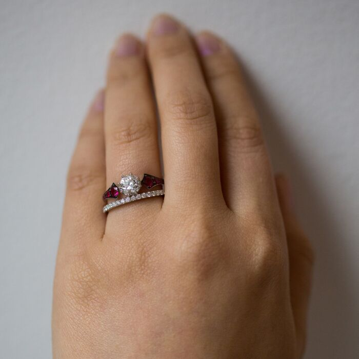 Ruby Wings Ring image
