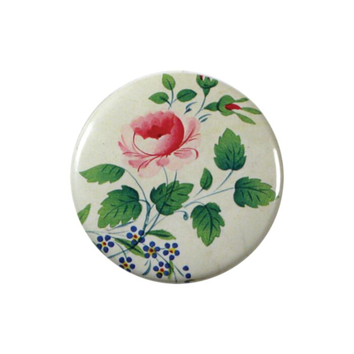 Rose Spray Pocket Mirror