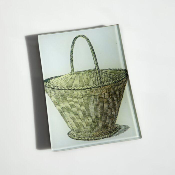 Tisket Tasket Basket Plate
